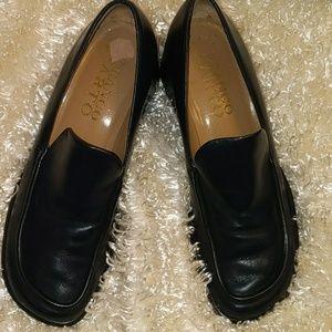 "Franco Sarto loafer w/ 2 1/4"" heel Size 7"